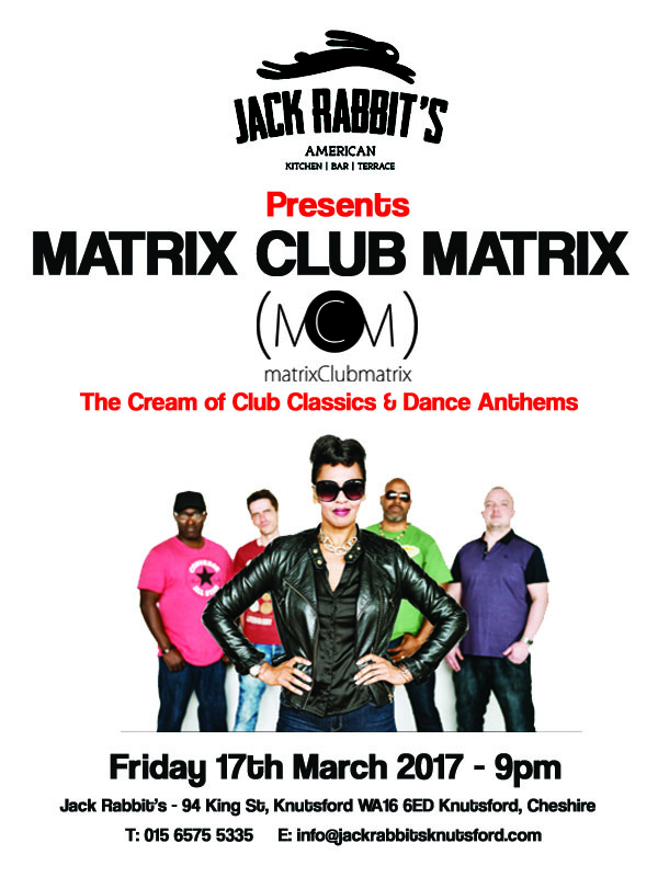 Matrix Club Matrix at Jack Rabbits Knutsford Friday 17th March 2017 copy