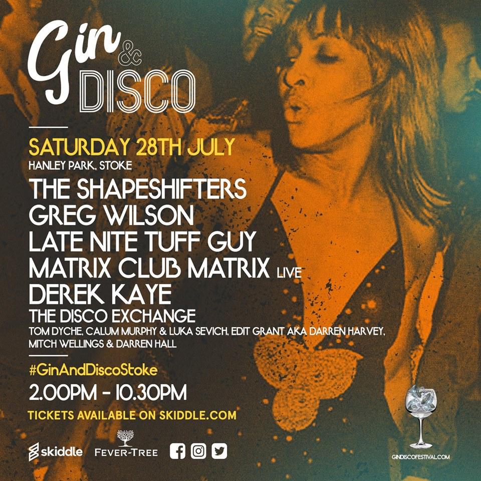 Matrix Club Matrix Gin and Disco 2018
